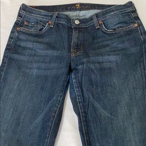 7 for all mankind Blue Jeans Pants size 32 Nice